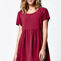 LA Hearts Short Sleeve Woven Babydoll Dress at PacSun.com