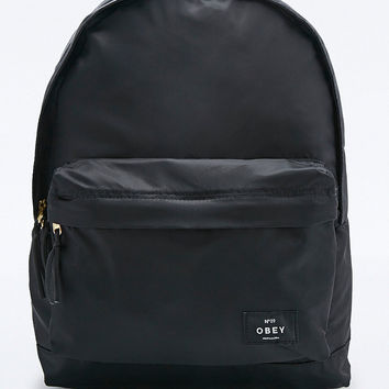 Obey Laroche Backpack in Black - Urban Outfitters