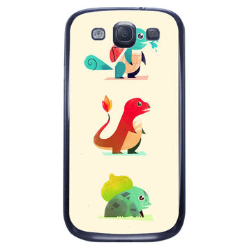 The Starters Pokemon Samsung Galaxy S3 Case