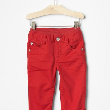 Gap 1969 Pull On Red Straight Jeans