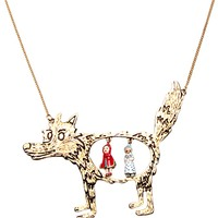 N2 by Les Néréides Little red riding hood long necklace