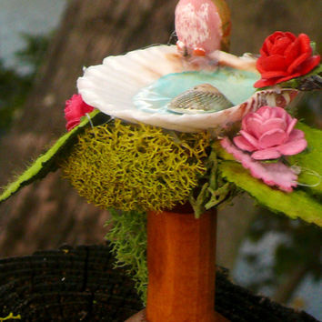 Birdbath Miniature Fairy Garden Accessory