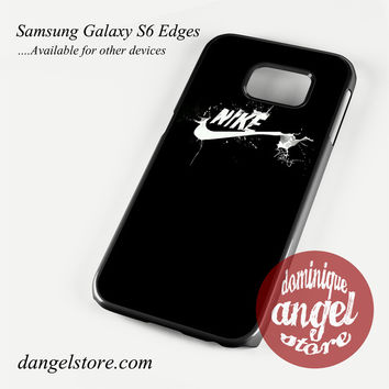 Nike in White Paint Phone Case for Samsung Galaxy S3/S4/S5/S6/S6 Edge/S6 Edge Plus