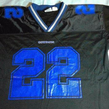 Mens NFL Dallas Cowboys #22 Emmit Smith Starter Jersey size 52/XL