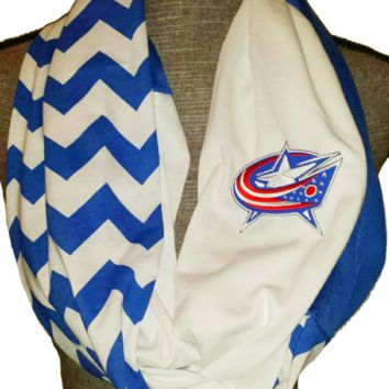 Blue Jackets Scarf