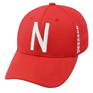Licensed Nebraska Cornhuskers Official NCAA Booster Plus Embroidered Hat Cap TOW 024671 KO_19_1