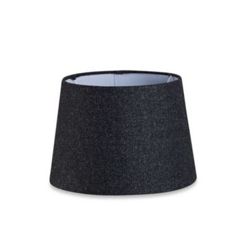 Mix & Match Small 10-Inch Hardback Drum Lamp Shade in Black