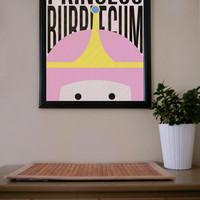 Adventure Time / Princess Bubblegum / Poster
