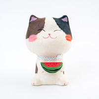 Kyoto Washi Watermelon Cat