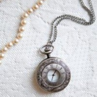 Retrospect Pocket Watch Necklace