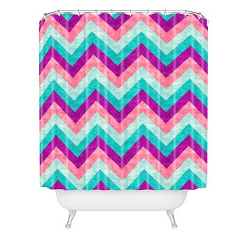Jacqueline Maldonado Chevron Sweet Shower Curtain