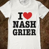 I HEART LOVE NASH GRIER T-SHIRT (IDC810248)
