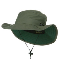 UPF 50+ Supplex Explorer Outdoor Hat-Fossil M