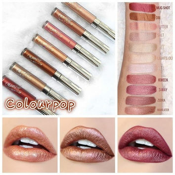 31 Colour Available Colourpop Lip Gloss Long Lasting Waterproof Matte Liquid Lipstick Woman Makeup(Size 1-17:ULTRA MATTE LIP.Size 18-30:ULTRA METALLIC LIP,GLOSSY LIP) [9305778951]