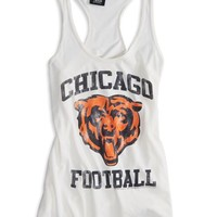 AEO Women's Chicago Bears Vintage Tank (White)