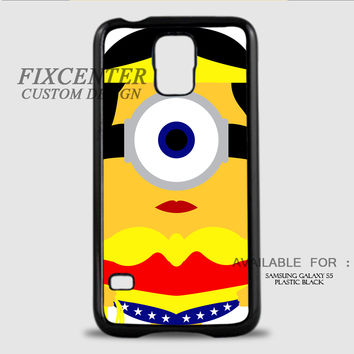 WONDER WOMAN MINION - Samsung Galaxy S5 Case
