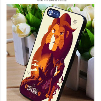 The Lion King iPhone for 4 5 5c 6 Plus Case, Samsung Galaxy for S3 S4 S5 Note 3 4 Case, iPod for 4 5 Case, HtC One for M7 M8 and Nexus Case