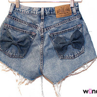 The Lilly Shorts (high-waisted with bow on back pockets)