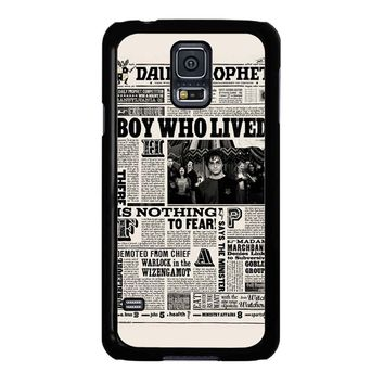 Harry Potter Daily Prophet Samsung Galaxy S5 Case