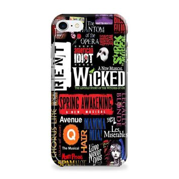 Broadway Musical Collage iPhone 6 | iPhone 6S Case