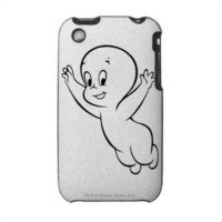 Casper Flying Pose 1 iPhone 3 Cases from Zazzle.com