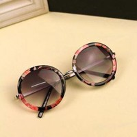 Round Sunglasses A812