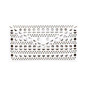 AZZEDINE ALAÏA | Vienne Laser-Cut Leather Envelope Clutch | Womenswear | Browns Fashion