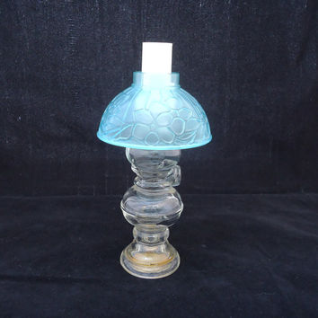 Vintage Avon Perfume Bottle, Avon Oil Lamp Perfume Bottle, Oil Lamp Perfume Decanter, Collectable Avon