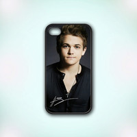 Hunter Hayes Signature - Design Print for iPhone 4/4s Case or iPhone 5 Case - Black or White