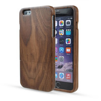 Unique Handmade Natural Wood Bamboo Shockproof Case For iPhone 6 6S