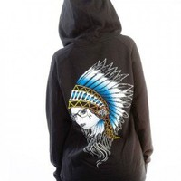 Fatal Up In Smoke Womens Hoodie - Women's - Hoodies - Apparel