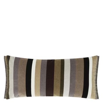 Designers Guild Lambusa Graphite Decorative Pillow