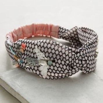 Dragonfly Turban Band by Anthropologie in Rose Size: One Size Hair