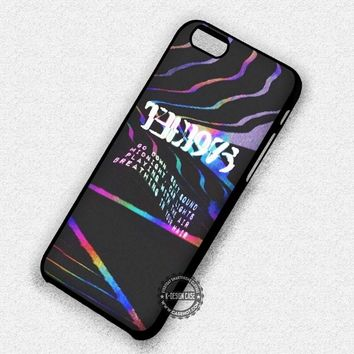 Logo in Hologram Psyhedelic The 1975 - iPhone 7 6 5 SE Cases & Covers