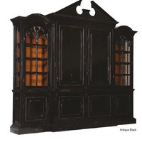 Solid wood Entertainment Cabinet, luxury furniture