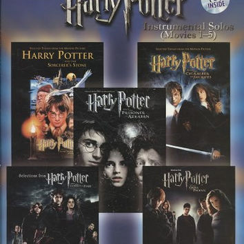 Selections From Harry Potter Instrumental Solos (Movies 1-5): Flute, Level 2-3