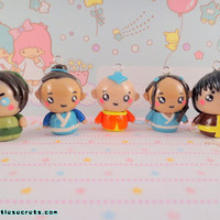 Avatar: The Last Airbender Chibi Set Phone Charm
