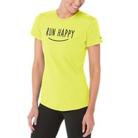 Run Happy Smile Tee