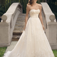Casablanca Bridal 2170 Ball Gown Wedding Dress