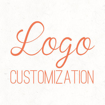 Premade Logo Customization | DIY Assistance | Header Work, Support, Help, Changes