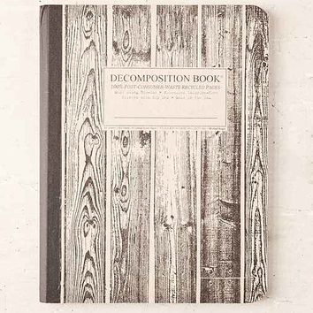 Decomposition Book Beachwood Notebook- Washed Black One