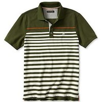 Mariner Stripe Signature Pique Polo