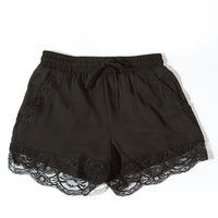 Lace Edge Shorts - Koshka