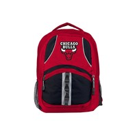 "Chicago Bulls Backpack 18.5x8x13 ""Captain"" Official NBA"