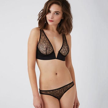 Amaranth 'V' Shoulder Bra
