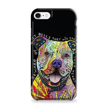 Dog Abstract Pitbull iPhone 6 | iPhone 6S Case