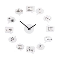 Umbra Tick Talk Wall Clock