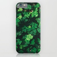 Forest Clover iPhone & iPod Case by Errne