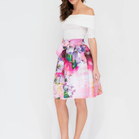 Garden Society Flared Skirt