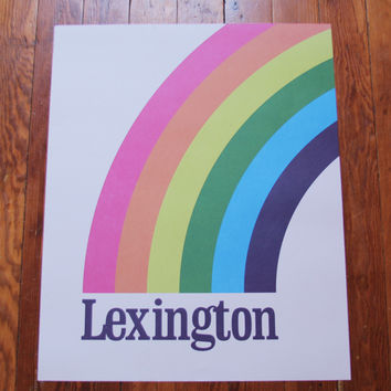 Lexington Rainbow Print